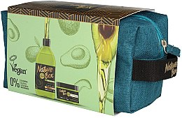 Парфюми, Парфюмерия, козметика Комплект за коса - Nature Box Avocado Oil (шампоан/385ml + маска/200ml + козм. чанта)