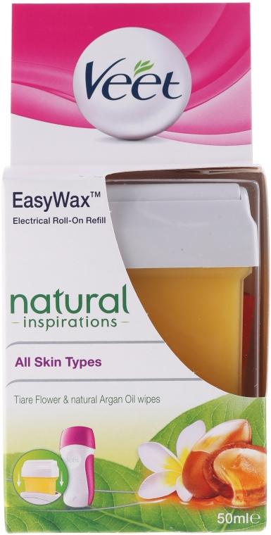 Пълнител кола маска - Veet Easy Wax Natural Inspirations