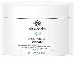 Парфюмерия и Козметика Крем за нокти - Alessandro International Spa Nail Polish Cream