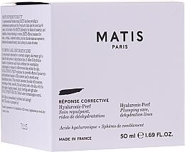 Парфюмерия и Козметика Овлажняващ крем за запълване на бръчки - Matis Hyaluronic-Perf Plumping Care