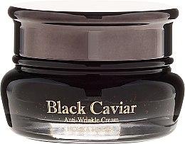 Парфюми, Парфюмерия, козметика Крем за лице с екстракт от черен хайвер - Holika Holika Black Caviar Anti-Wrinkle Cream