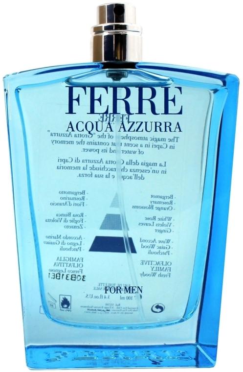Gianfranco Ferre Acqua Azzurra - Тоалетна вода (тестер без капачка)