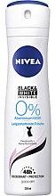 Парфюми, Парфюмерия, козметика Спрей дезодорант - Nivea Women Deospray Invisile Black&White 0% Aluminium