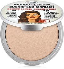 Парфюмерия и Козметика Хайлайтър-сенки - theBalm Bonnie-Lou Manizer Highlighter & Shadow (тестер)