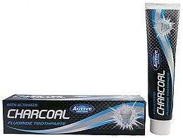 Парфюми, Парфюмерия, козметика Паста за зъби с активен въглен - Beauty Formulas Charcoal Activated Fluoride Toothpaste