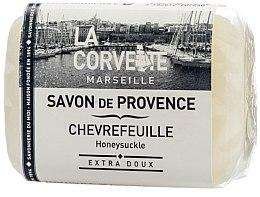 """Парфюми, Парфюмерия, козметика Провансалски сапун """"Орлови нокти"""" - La Corvette Provence Soap Honeysuckle"""