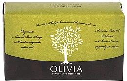 Парфюмерия и Козметика Сапун с маслиново масло - Olivia Beauty & The Olive Tree Natural Bar Soap Extra Olive Oil