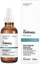 Парфюмерия и Козметика Мулти пептиден серум за растеж на косата - The Ordinary Multi Peptide Serum For Hair Density