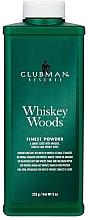 Парфюмерия и Козметика Clubman Pinaud Whiskey Woods - Универсален талк