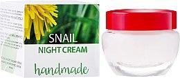 Парфюми, Парфюмерия, козметика Крем за лице с екстракт от охлюв - Hristina Cosmetics Handmade Snail Night Cream