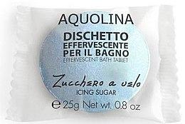 Парфюми, Парфюмерия, козметика Бомбичка за вана - Aquolina Effervescent Bath Tablet Icing sugar