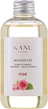 """Парфюмерия и Козметика Масажно масло """"Роза"""" - Kanu Nature Rose Massage Oil"""