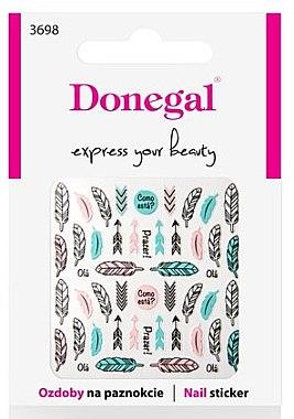 Декориращи лепенки за нокти, 3698 - Donegal — снимка N1