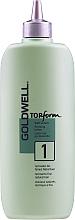 Парфюмерия и Козметика Лосион за къдрене за нормална или тънка коса - Goldwell Topform 1