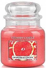 """Парфюми, Парфюмерия, козметика Ароматна свещ """"Грейпфрут и джинджифил"""" - Country Candle Grapefruit Ginger"""