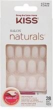 Парфюмерия и Козметика Комплект изкуствени нокти - Kiss Salon Flexi-Fit Patented Technology Nails (28 бр)