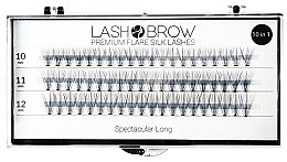 Парфюми, Парфюмерия, козметика Изкуствени мигли - Lash Brown Premium Flare Silk Lashes Spectacular Long