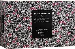 Парфюмерия и Козметика Guerlain Black Perfecto By La Petite Robe Noire - Комплект парфюмна вода (edp/50ml + mini/5ml + bag)