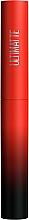 Парфюмерия и Козметика Матово червило за устни - Maybelline New York Color Sensational Ultimatte