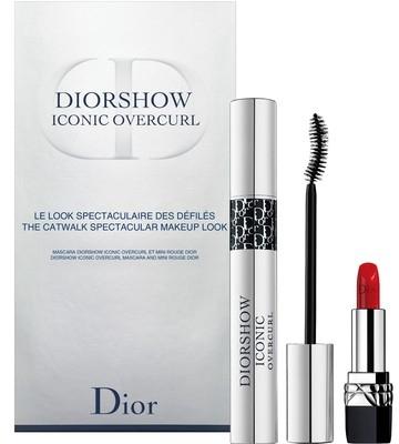 Комплект - Dior Diorshow Iconic Overcurl Gift Set (спирала/10ml + червило за устни/1,5g) — снимка N1