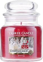 Парфюмерия и Козметика Ароматна свещ в бурканче - Yankee Candle Christmas Magic