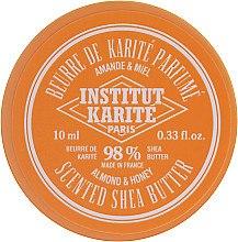 Парфюмерия и Козметика Масажно масло от ший с аромат на бадеми и мед 98% - Institut Karite Almond Honey Scented Shea Butter