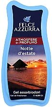Парфюмерия и Козметика Освежител за въздух - Felce Azzurra Gel Air Freshener Notte d'estate