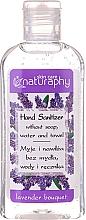 Парфюмерия и Козметика Дезинфекциращ гел за ръце с аромат на лавандула - Bluxcosmetics Naturaphy Alcohol Hand Sanitizer With Lavender Fragrance (мини)