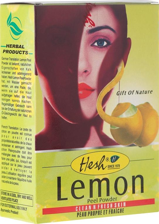 Тонизираща маска за лице - Hesh Lemon Peel Powder — снимка N1
