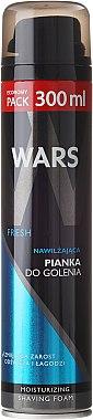 """Пяна за бръснене """"Овлажняваща"""" - Wars Fresh Moisturizing Shaving Foam — снимка N1"""