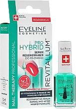 Парфюмерия и Козметика Хибриден серум за нокти - Eveline Cosmetics Nail Therapy Professional Revitalum Pro Hybrid