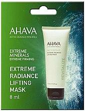 Парфюмерия и Козметика Лифтинг маска за лице с озаряващ ефект - Ahava Time To Revitalize Extreme Radiance Lifting Mask (мостра)