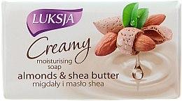 Парфюми, Парфюмерия, козметика Крем сапун с бадеми и масло от ший - Luksja Creamy Almond Shea Butt Soap