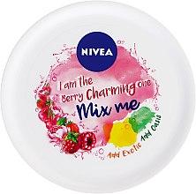 Парфюми, Парфюмерия, козметика Крем за лице - Nivea Soft Mix Me Berry Krem