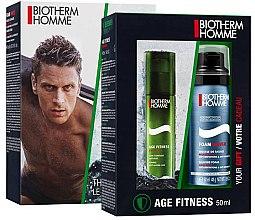 Парфюмерия и Козметика Комплект - Biotherm Homme Aquapower (face/lot/50ml + shave/foam/50ml)
