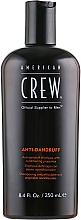 Парфюмерия и Козметика Балансиращ шампоан против пърхот за мазна кожа на главата - American Crew Anti Dandruff+Sebum Control Shampoo