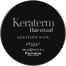 Парфюмерия и Козметика Маска за реконструкция на увредена коса - Fanola Keraterm Mask