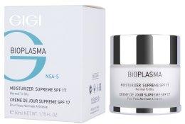 Парфюмерия и Козметика Овлажняващ крем за мазна кожа - Gigi Bioplasma Moist Oil SPF-17