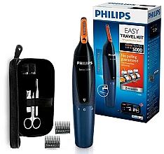 Парфюмерия и Козметика Тример за нос, уши и вежди - Philips Series 5000 NT5180/15