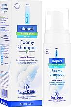 Парфюмерия и Козметика Шампоан-пяна за коса - Frezyderm Atoprel Foamy Shampoo