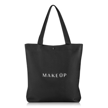 Черна чанта (38 х 39,5 х 8,7 см) - MakeUp