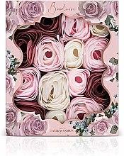 Парфюми, Парфюмерия, козметика Комплект розови листенца за вана - Baylis & Harding Boudoire Velvet Rose & Cashmere Soap Petal Set