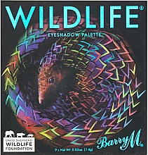Парфюмерия и Козметика Палитра сенки за очи - Barry M Cosmetics Wildlife Eyeshadow Palette Pangolin