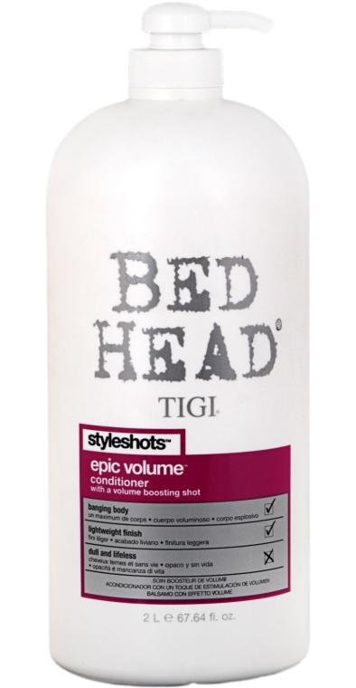 Балсам за допълнителен обем - Tigi Bed Head Styleshots Epic Volume Conditioner — снимка N2