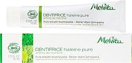 Парфюмерия и Козметика Паста за зъби - Melvita Dentifrice Pure Breath Toothpaste