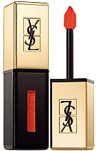 Парфюмерия и Козметика Лак за устни - Yves Saint Laurent Rouge Pur Couture Vernis a Levres Glossy Stain (Limited Edition)