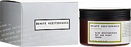 Парфюмерия и Козметика Хидратиращ крем за лице с алое - Beaute Mediterranea Aloe Moisturizing Day And Night Cream