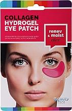 Парфюмерия и Козметика Колагенова маска под очи с червено вино - Beauty Face Collagen Hydrogel Eye Mask