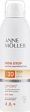 Парфюмерия и Козметика Слънцезащитен спрей за тяло - Anne Moller Non Stop Active Sun Invisible Mist SPF30