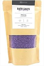 """Парфюмерия и Козметика Соли за вана """"Pure Energy"""", лавандула - IDC Institute Bath Salts Relaxing Lavender"""